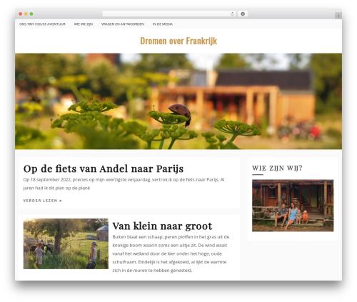 Drift Blog theme WordPress - dromenoverfrankrijk.nl