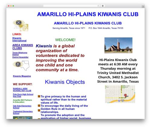 SPELLSTRAP WP template - hiplainskiwanis.org