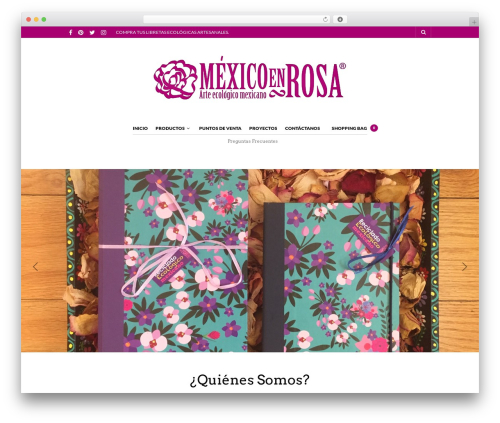 The Retailer best WordPress template - mexicoenrosa.com
