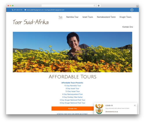 The7 | Shared By VestaThemes.com WordPress theme - toersuidafrika.com