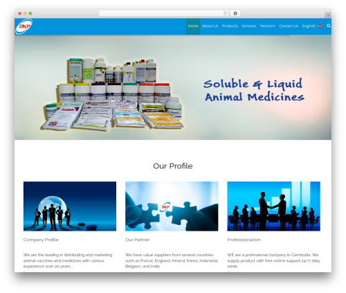 AccessPress Staple Pro WordPress theme - bkpcambodia.com