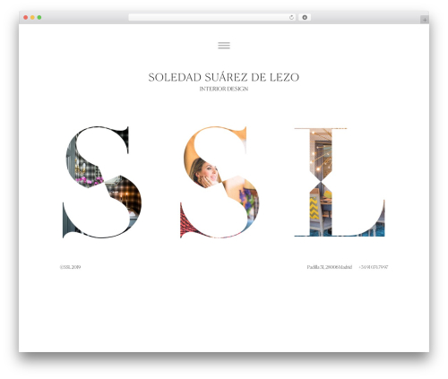 Best WordPress theme Bridge - soledadsuarezdelezo.com