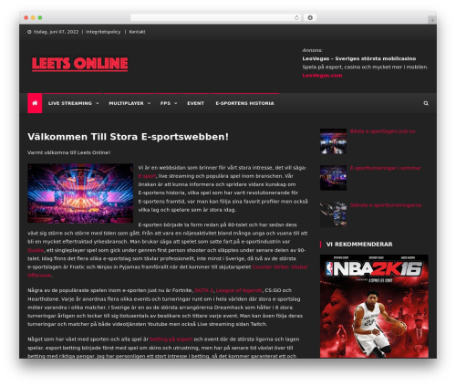 Gaming Mag Wordpress News Template By Codevibrant