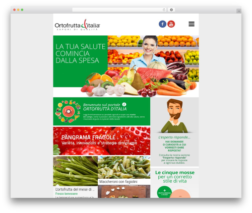 Magazine best WordPress template - ortofruttaditalia.it