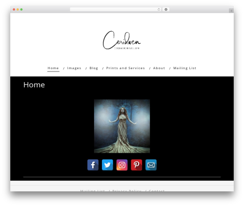 Theme WordPress Minus - ceridwenimages.com