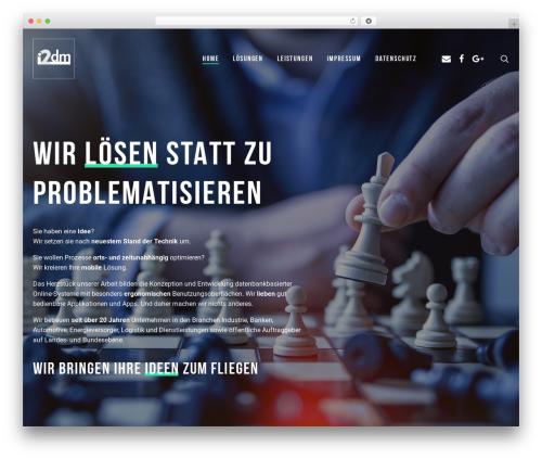 WP template Mint - i2dm.de