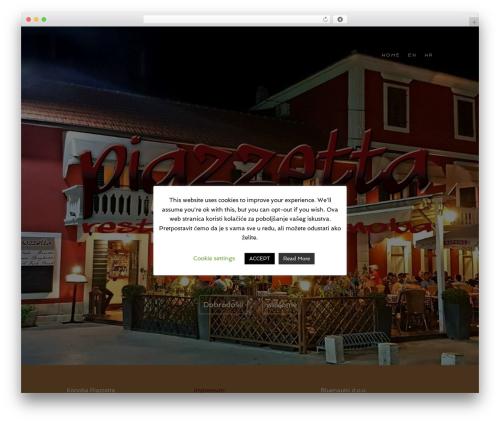 Food Express free WordPress theme - konoba-piazzetta.com