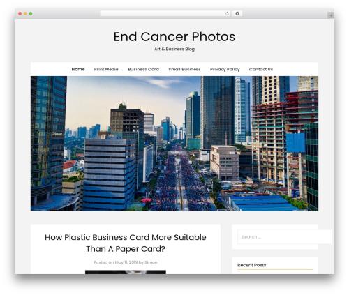 Theme WordPress FlatMagazinews - endcancerphotos.com