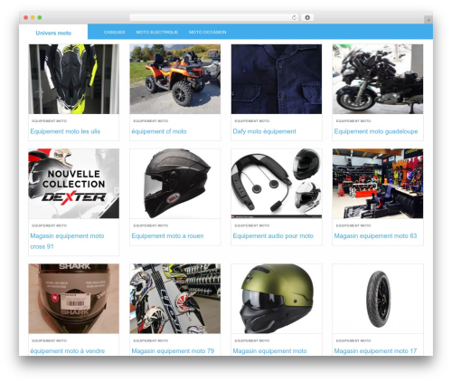 Theme WordPress LevelPro Child - auto-moto-promo.fr