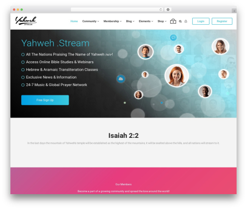 aardvark top WordPress theme - yahweh.stream