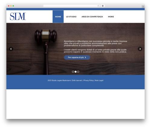 Globaly premium WordPress theme - mastroianni.studio
