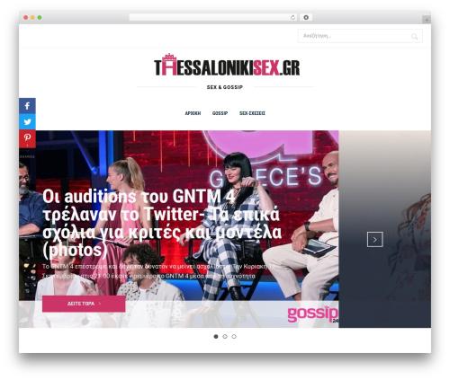 Knight WordPress website template - thessalonikisex.gr