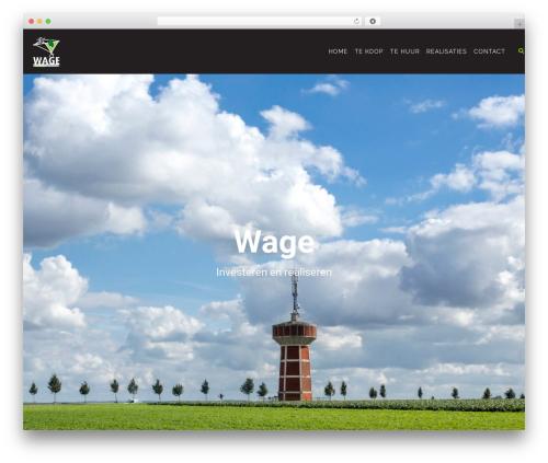 Konsulting WordPress theme - wage.be