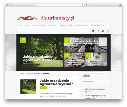 Nexus WordPress theme - dlaurbanisty.pl