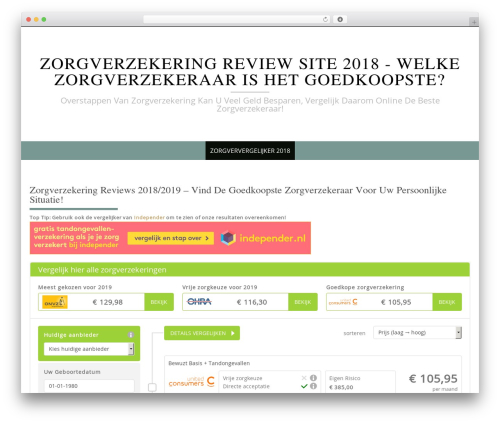 Free WordPress WP SEO HTML Sitemap plugin - zorgverzekering.review