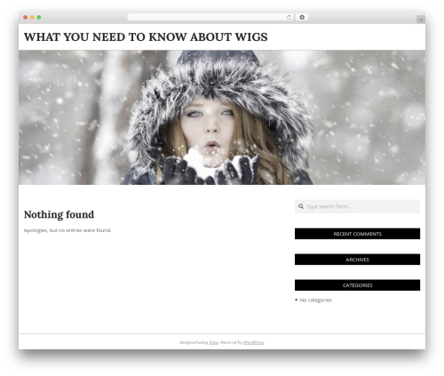 WordPress template Unos - mywig.info