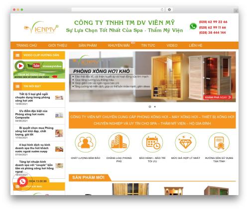 Xing WordPress template - xonghoi.net