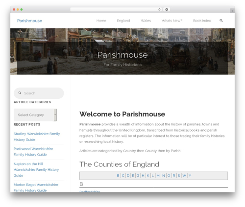 Free WordPress Shortcode Table of Contents plugin - parishmouse.co.uk