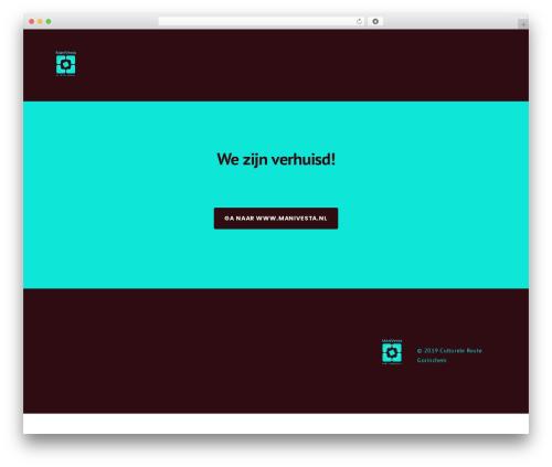 Businessx premium WordPress theme - cultureleroute.nl