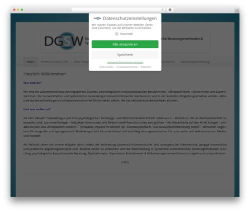 ColorLight WordPress theme - dgsw.info