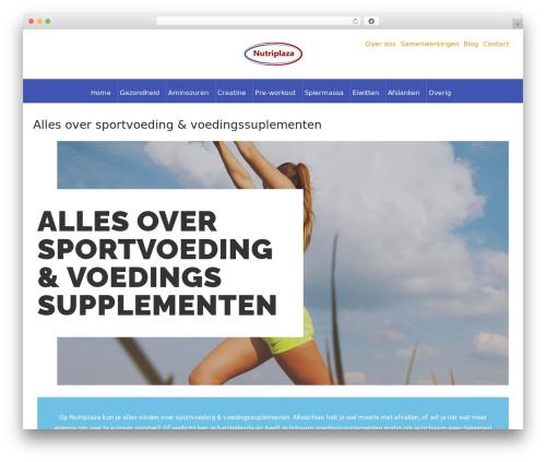 Di eCommerce WordPress shopping theme - nutriplaza.nl