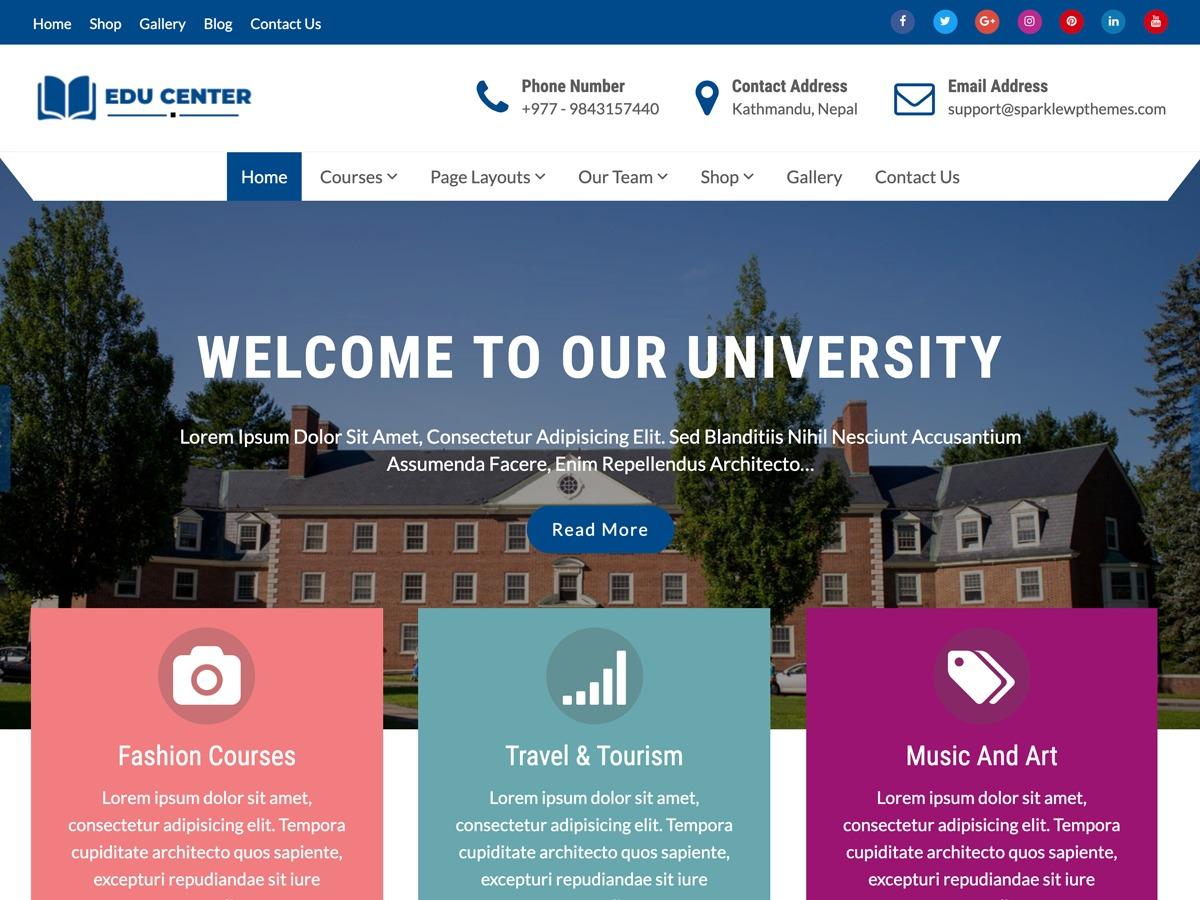 Education Xpert WordPress store theme