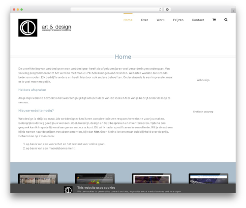 WordPress template Avada - clartdesign.nl