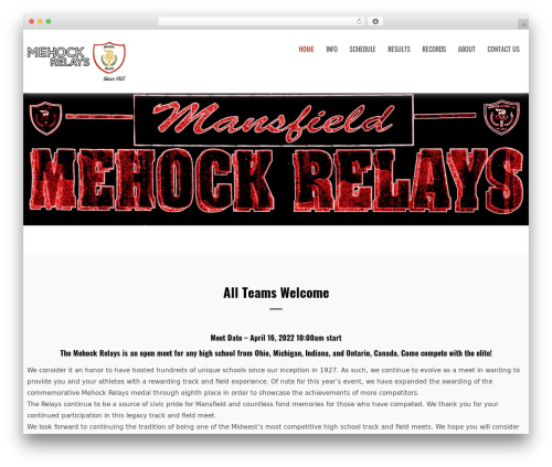WordPress theme Creative Agency - mehockrelays.org