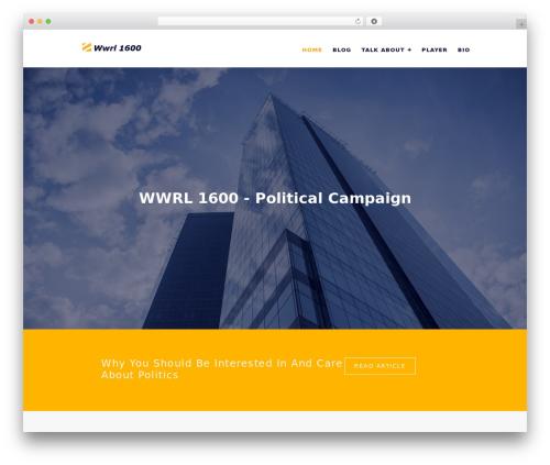 WP theme Construc - wwrl1600.com