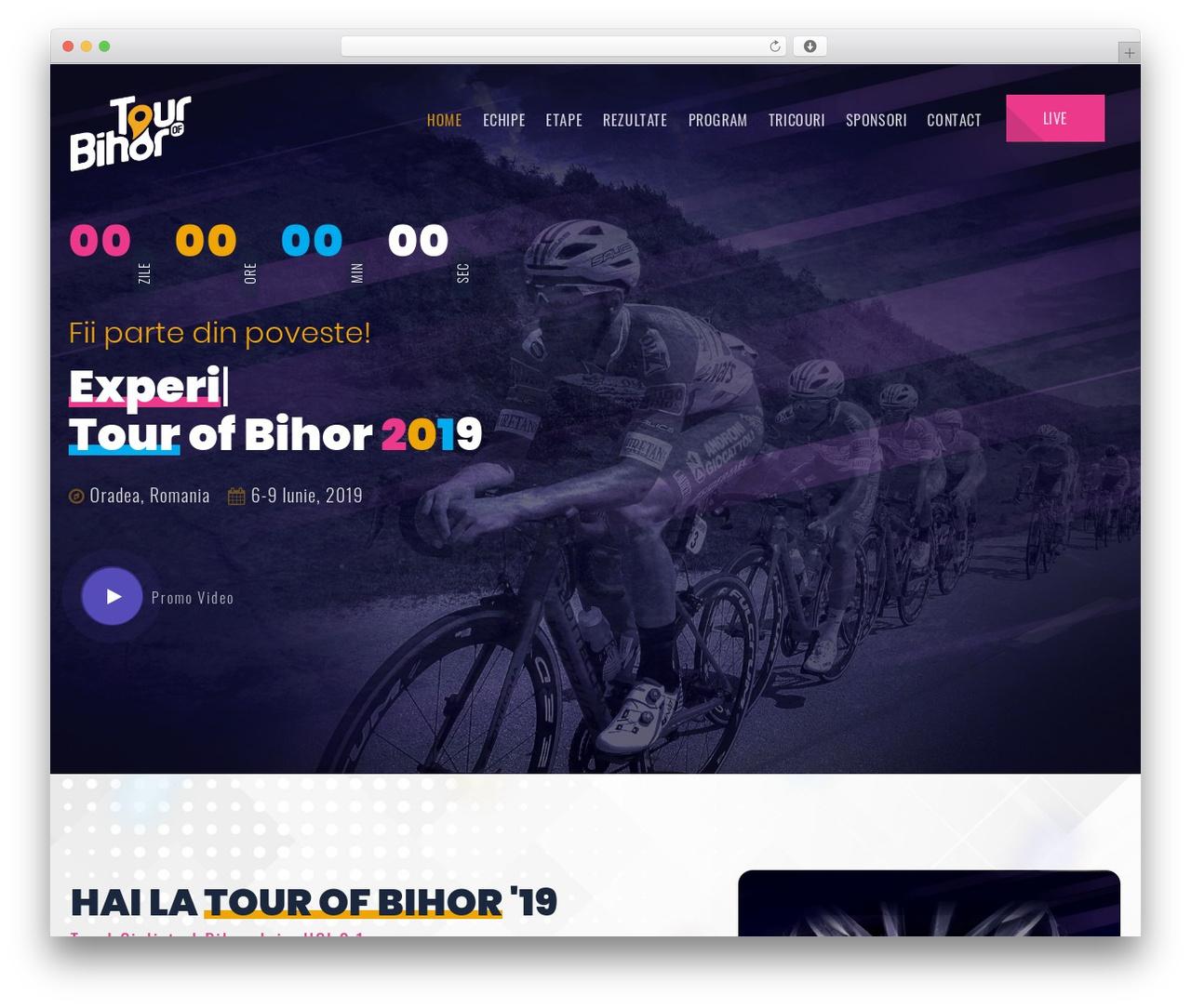 Emeet WordPress page template - tourofbihor.ro