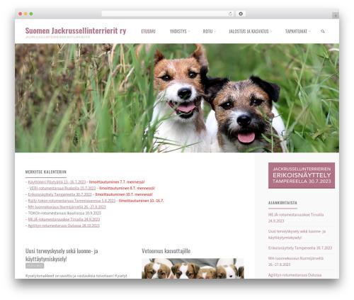Kahuna premium WordPress theme - jackrussellinterrieri.fi