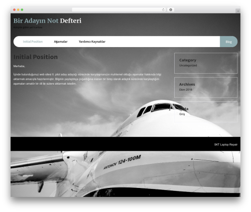 Laptop Repair WordPress template - mertyilmaz.net