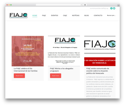 The7 WordPress theme - fiajc.org