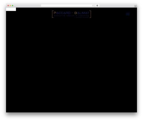 Salient WordPress theme - paccard-balmat.com