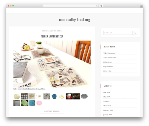 Sanremo WordPress template free download - neuropathy-trust.org