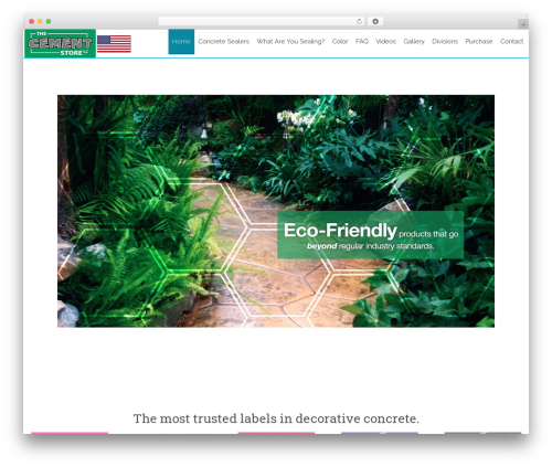 WordPress theme AccessPress Staple Pro - thecementstore.com