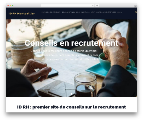 WordPress theme Konsulting - id-rh.com