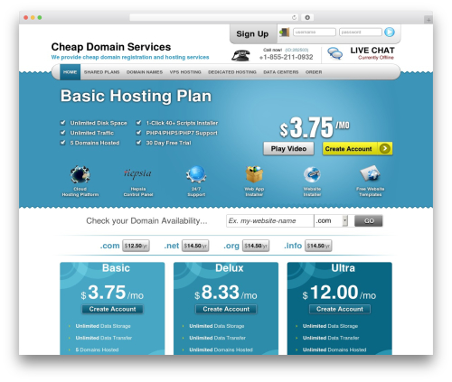 Best WordPress theme Simply Elegant - cheapdomainservices.com