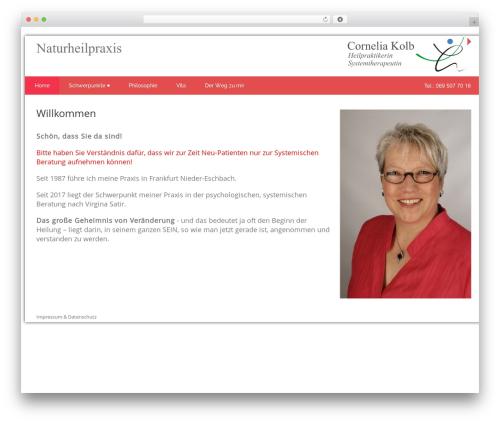 Health-Center-Lite WordPress theme download - cornelia-kolb.de