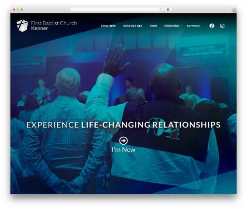 Deep theme WordPress - firstkenner.org