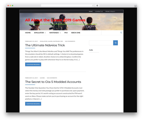 Socrates v5 WordPress gaming theme - dyanfield.com