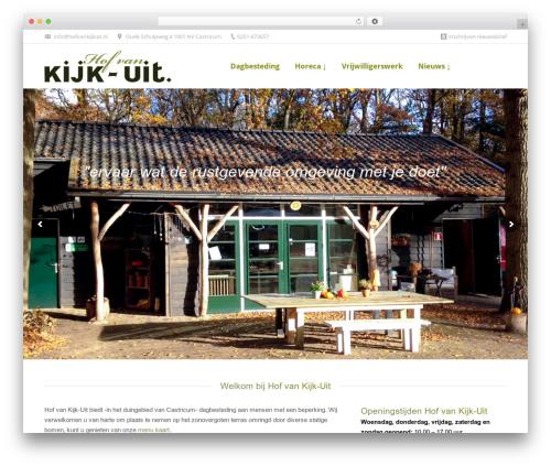 The7 premium WordPress theme - hofvankijkuit.nl