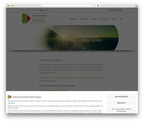 Total free WordPress theme - krebstherapie-nord.de