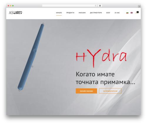 Best WordPress template Shopscape - as-lures.com
