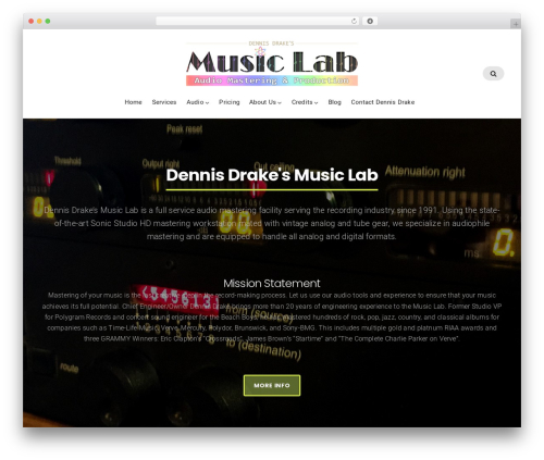 Businessx WordPress template for business - themusiclab.net