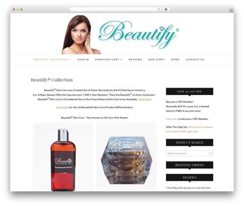 Edge WordPress template free download - justbeautify.com