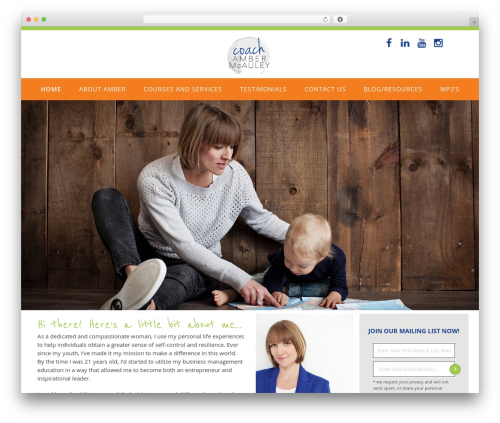 Best WordPress theme Akal - coachambermcauley.com