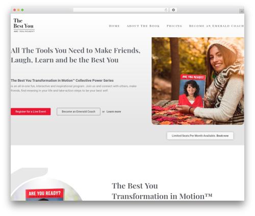 Best WordPress theme Skylar - areyoureadybook.com