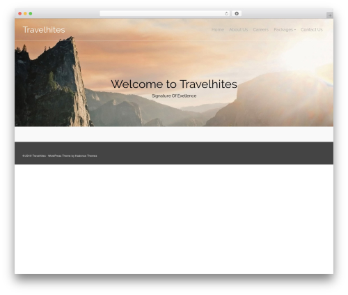 Pinnacle template WordPress free - travelhites.com