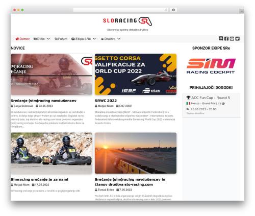 Template WordPress neve - slo-racing.com